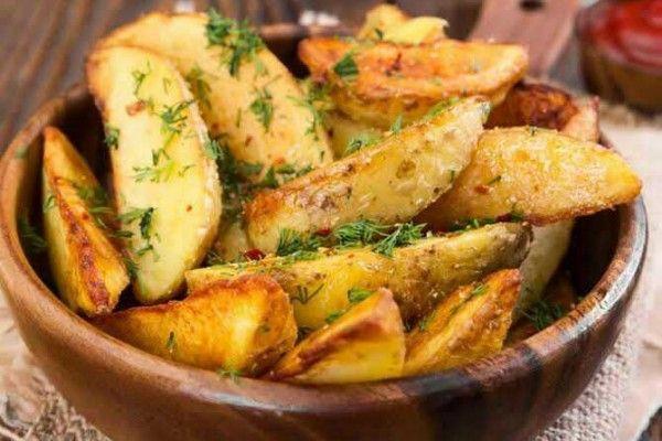 Resep Potato Wedges Mushroom Sauce Resep Kentang Goreng Saus Kentang