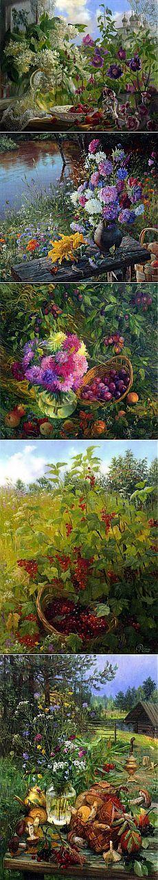 Русский художник Владимир Жданов