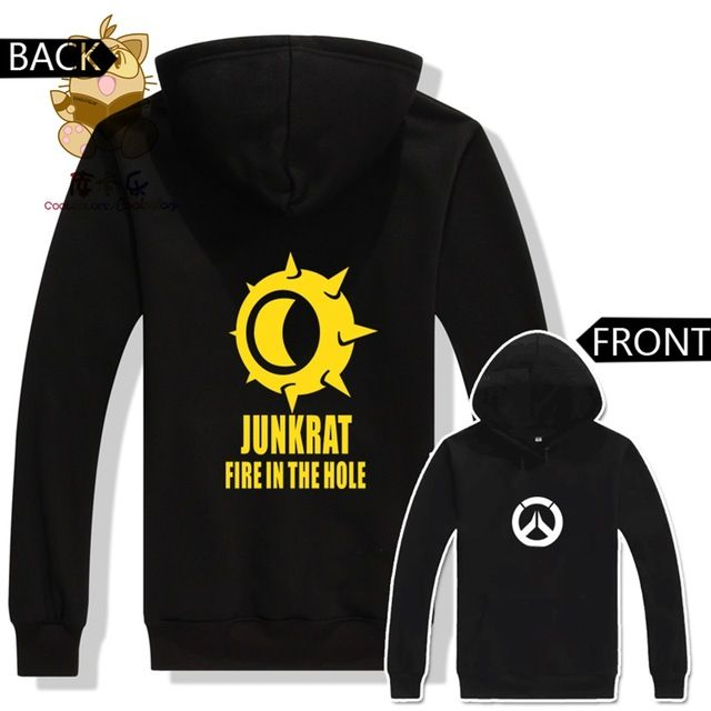 Promotion price Watch over hoodies hot game costume game character JUNKRAT FIRE IN THE HOLE printing hoodies AC201 just only $27.99 with free shipping worldwide  #hoodiessweatshirtsformen Plese click on picture to see our special price for you