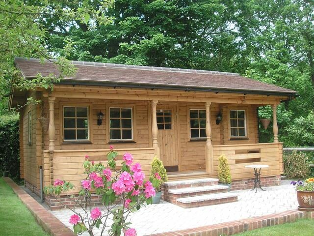Log cabins build or buy it s an affordable housing deal for Affordable cottages to build