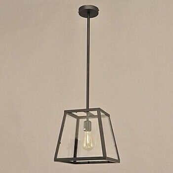 1 Light,60W Retro Loft Style Vintage Industrial Pendant Light Lamp with with Glass Shade,Lustres De Sala Teto,E27,AC