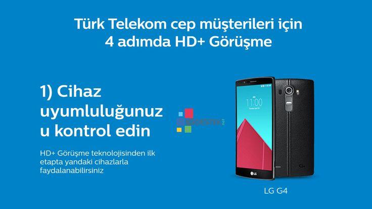 LG G4 H815TR Türk Telekom Volte HD  Görüşme Ayarları