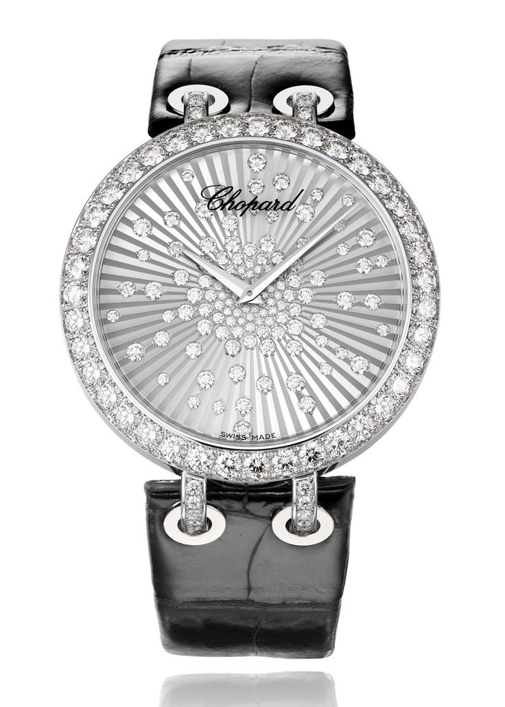 @Chopard Official Xtravaganza white gold and diamond watch. | The Jewellery Editor