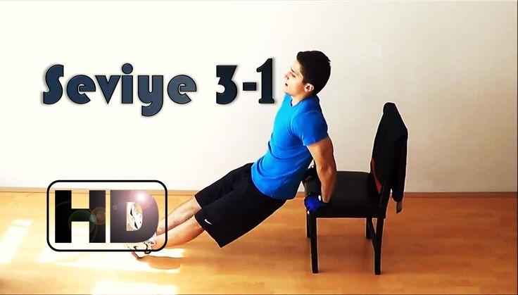 Yeni başlayanlar için evde vücut geliştirme hareketler egzersizler progr...