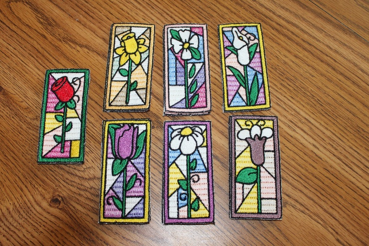 These are Stained glass Book Marks I have made.  These are for sale if you are interested.  paulaluberts@pqcomp.com