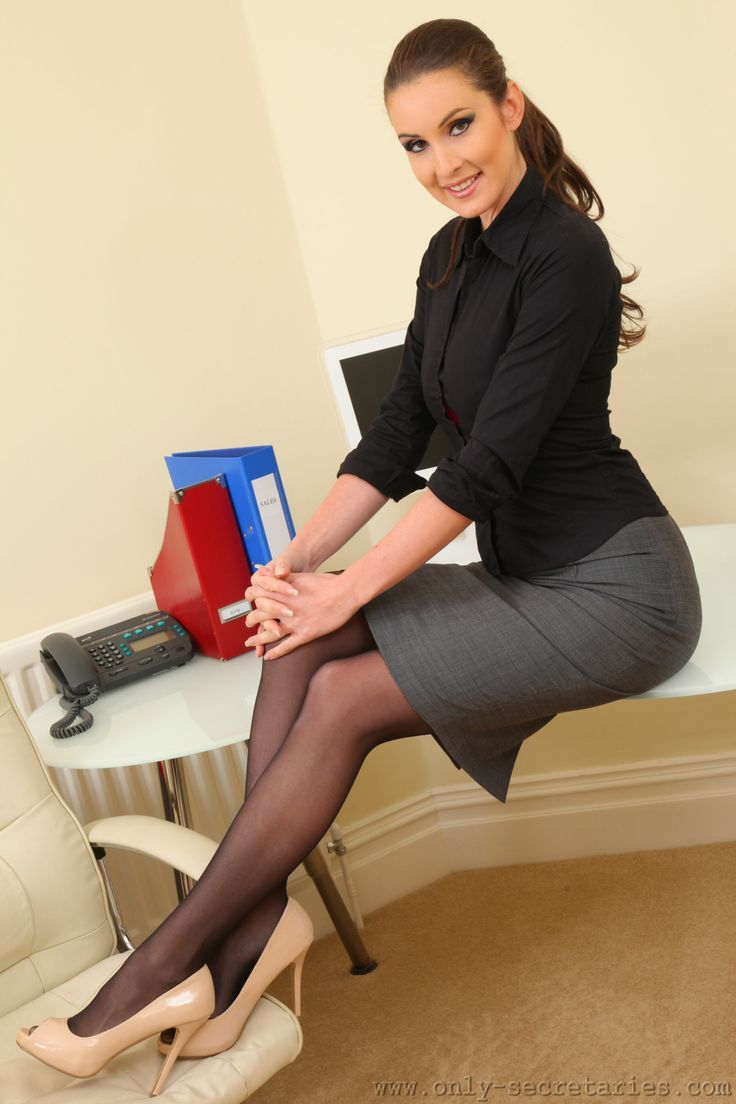 Join. Short skirt secretary pinterest