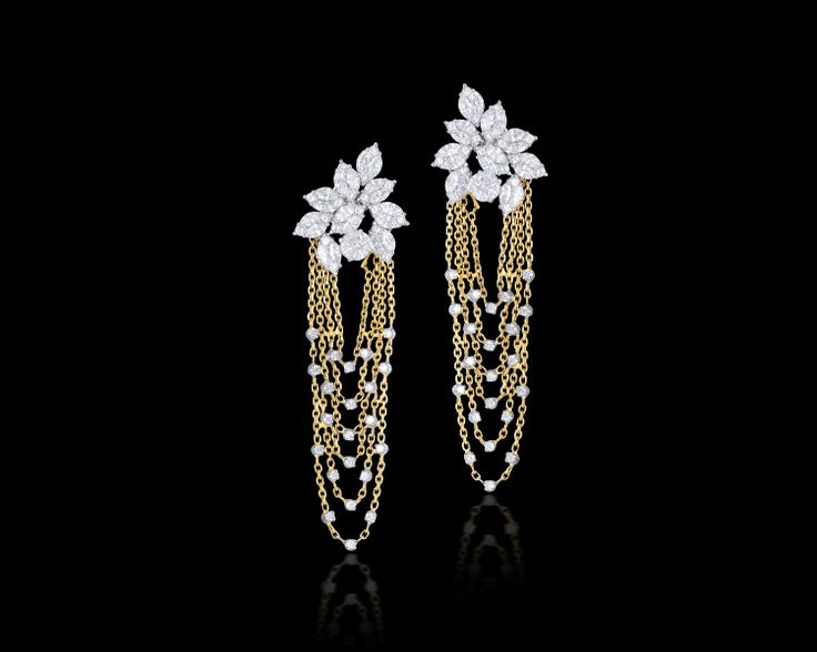 Style these simple, yet extremely classy, danglers with a #beautiful #lehenga…