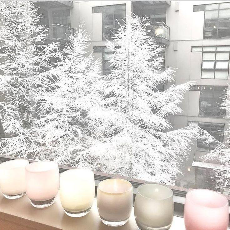 It's a glassybaby winter wonderland.  pc instagram: @glassybabymadrona