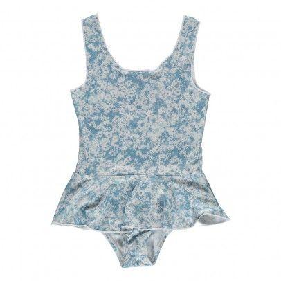 Laurel daisy swimming costume Blue  Stella McCartney