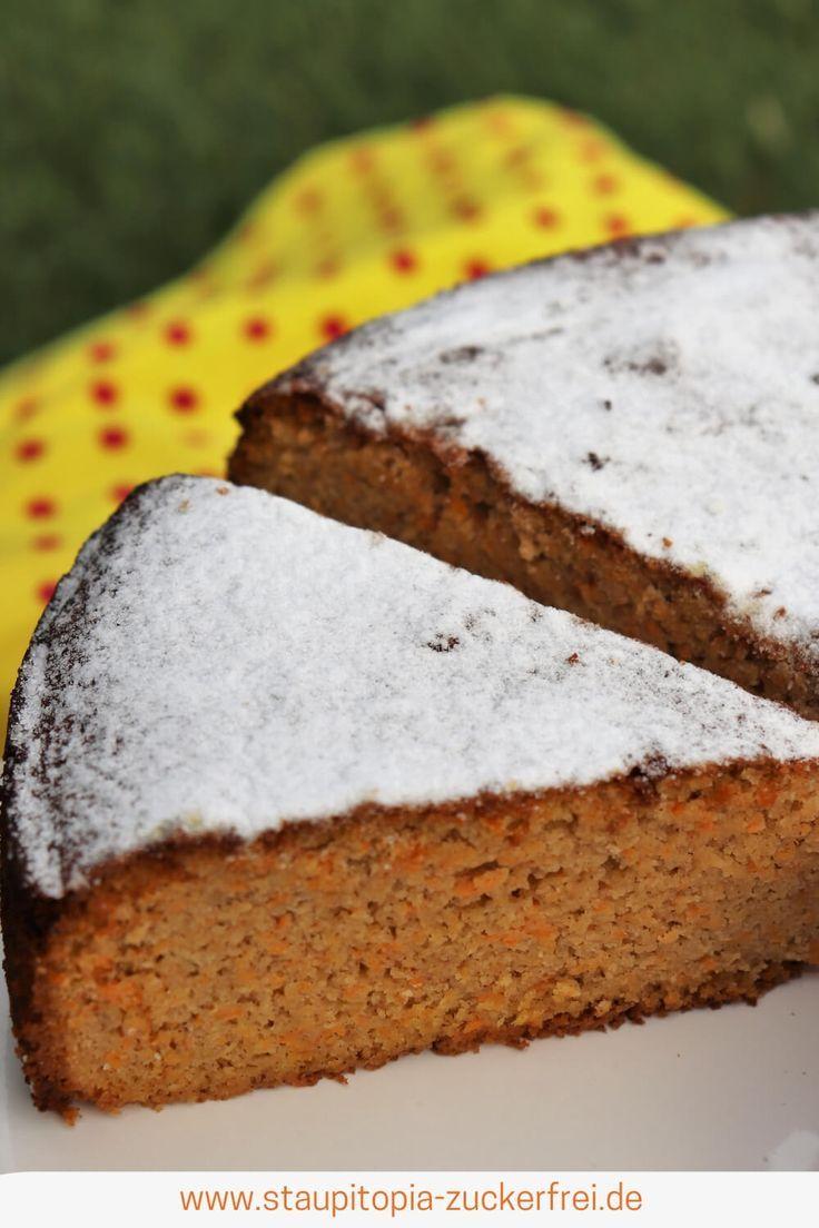 Gesunder Karottenkuchen Ohne Mehl Und Zucker Rezept Karotten Kuchen Backen Ohne Mehl Karottenkuchen