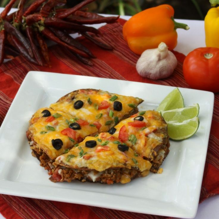 Skinny Mexican Pizza-homemade version of Taco Bell's!