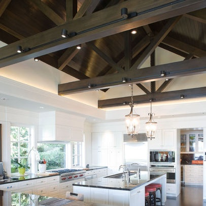 Open Beam Ceiling Design Ideas, Pictures, Remodel, and Decor