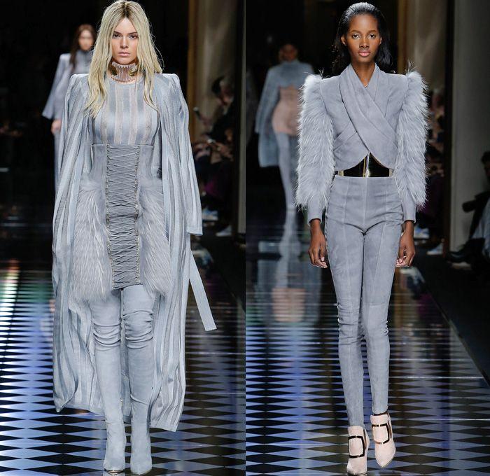 ... Fashion Week Mode à Paris France - Corset Pearls Tassels Fringe