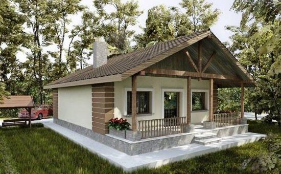 Proiect casa mica cu 1 camera