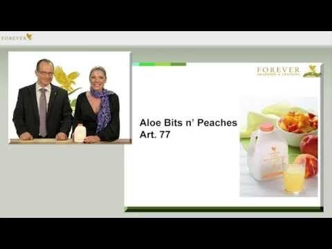 Forever Aloe Bits n' Peaches succo di Aloe Vera gel concentrato alla pesca. Aloe Bits n Peaches una bevanda dal gusto delicato che piace molto ai bambini. Per acquistarlo clicca qui: http://www.aloeverabenessere.it/aloe-bits-n-peaches/