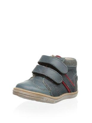 81% OFF Kickers Kid's Trapeze High Top Sneaker (Grey Beige)