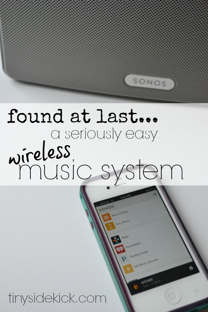 Maybe I do love technology…This Sonos Wireless Music System Is Rocking My World! #sonos #wirelessmusic