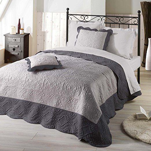 excellent nuances du monde couvrelit emma with parure de lit maison du monde. Black Bedroom Furniture Sets. Home Design Ideas