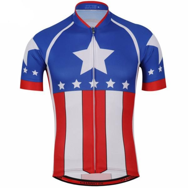 Captain America Star Cycling Jersey [70% Discounts] – Online Cycling Gear
