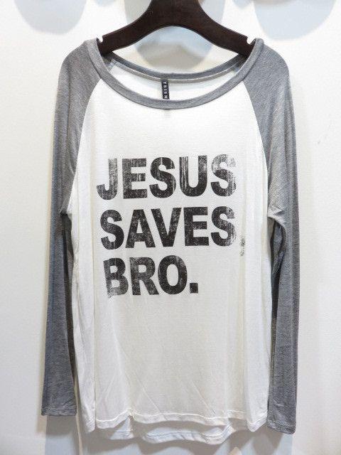 Jesus Saves Bro. Graphic Tee