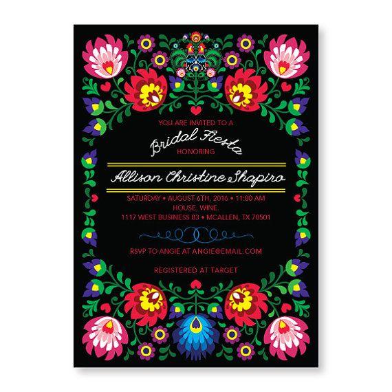 Fiesta Party Invitation | Cinco de Mayo Invitation | Mexican Invitation