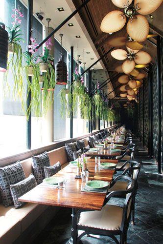 【昼食】人気タイ料理店の新境地 「Apinara」   タイ・バンコクのDACO