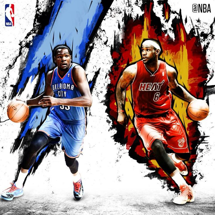 Knight Basketball Player Wallpaper: Kevin Durant And LeBron James