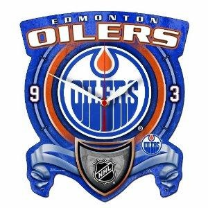 NHL Edmonton Oilers clock