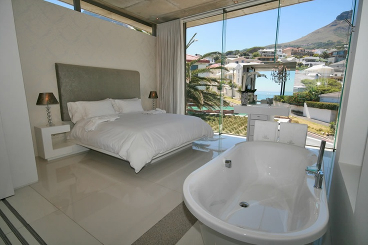Wake up to spectacular mountain views in your bedroom at 15 Views, Camps Bay.