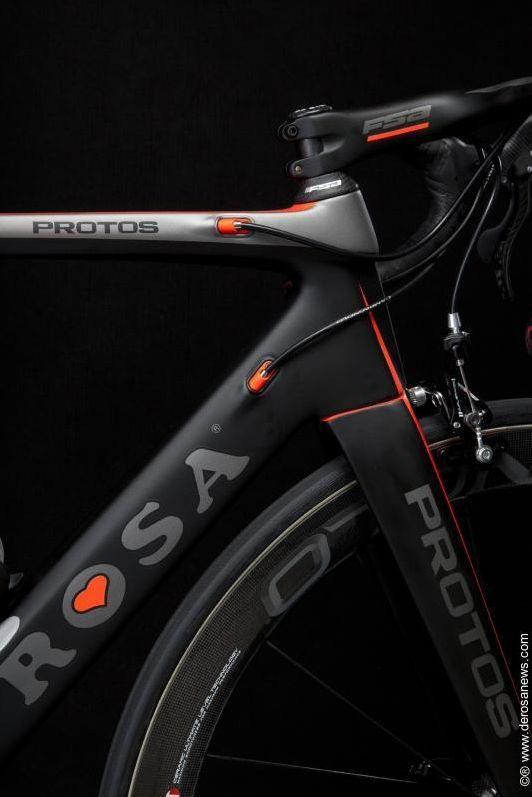 De Rosa Protos 'hot' road bike