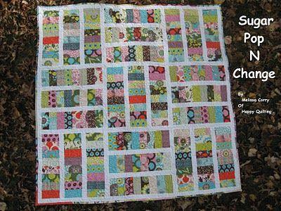Sugar Pop N Change tutorial: Scrap Quilts, Quilts Patterns, Moda Baking, Baking Shops, Jelly Rolls, Sugar Pop, Quilts Ideas, Quilts Tutorials, Changing Quilts