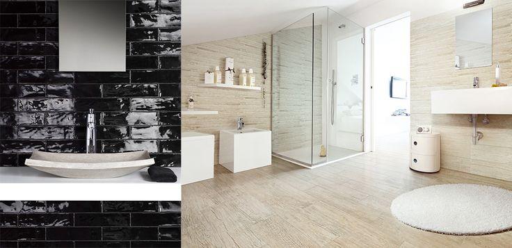 Argila Black and Wood Essence White