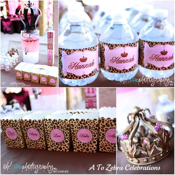 Amazing Cheetah Print Party Theme Supplies | Leopard Plates And Napkins Are From  Paper Style . The