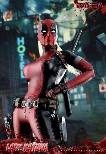 Lady Deadpool TOYS ERA CT011 1:6 Lady Katana Toys Era 1:6 Collectible Figure