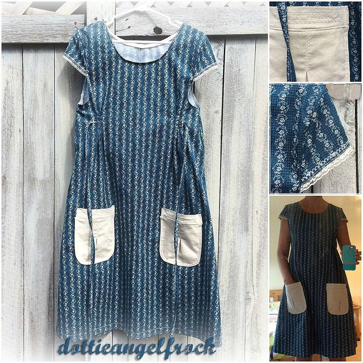 #dottieangelfrock number two is done! I changed up the sleeves which I found in…