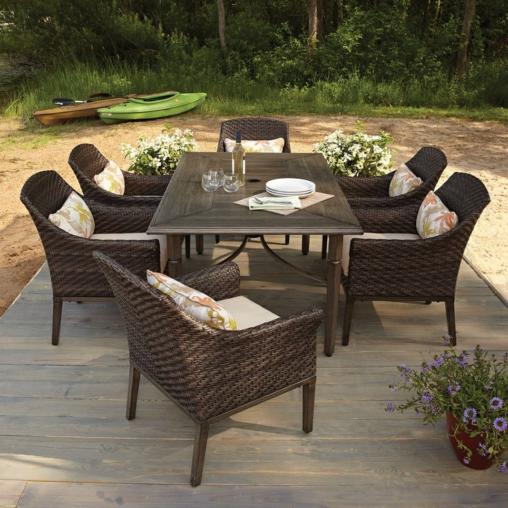 173 best Backyard images on Pinterest | Couch set, Outdoor ...
