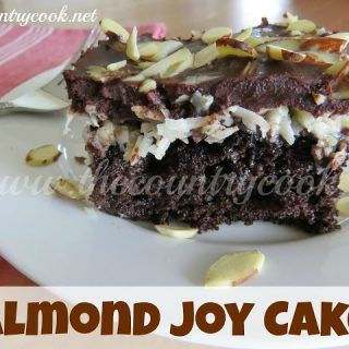 If you like Almond Joy candy bars (like I do) then you will love this cake. Coconut haters look away. Look away now. This is not the cake for you. This is only for the truly devoted chocolate and coconut lovers. I guess this could also be called Mounds Cake too if you removed the almonds...Read More »