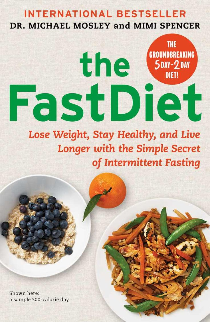 """The Fast Diet. Eat what you want for 5 days. """"Fast"""" (500 calories) on the other 2 days.  Supposedly works."""