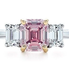 Asher cut pink diamond...I love it! I will forever drool over this cut.