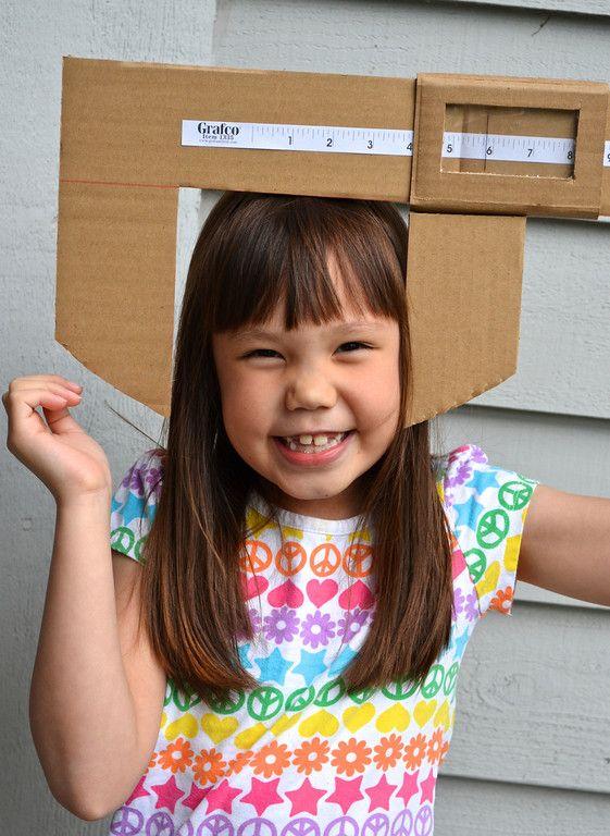 giant calliper - fun way to explore measuring #homeschool