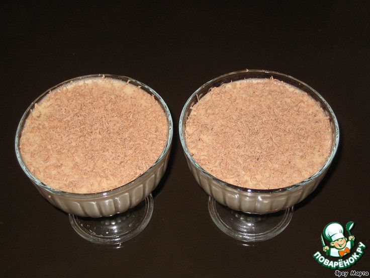 """Десерт шоколадный """"Обалденный"""" ингредиенты"""