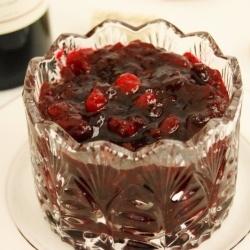 Cabernet Cranberry Sauce by TheKitchenPlayground