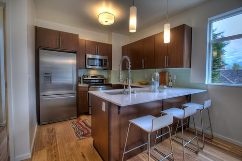 Seattle Modern Home Kitchen in Capitol Hill Search For Homes http://www.Thach.BuywithJohnLScott.com