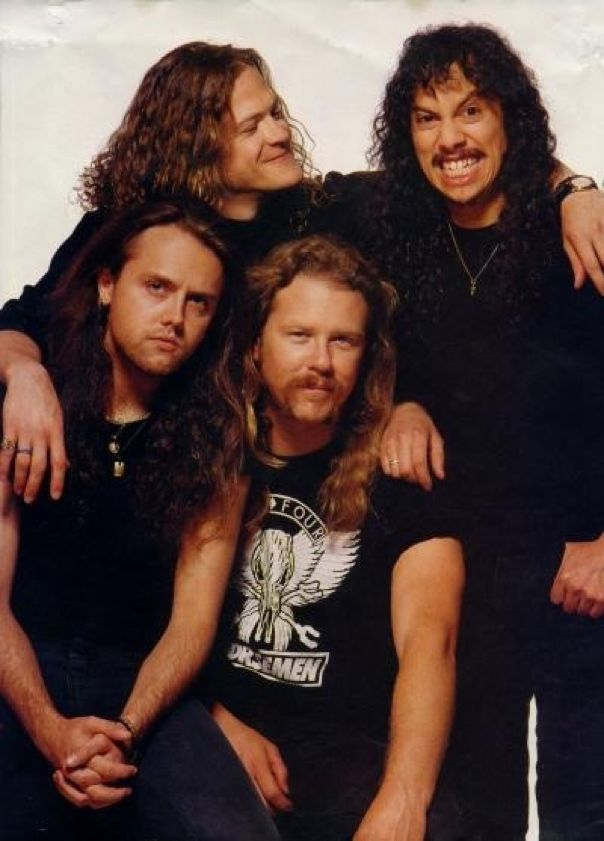Metallica, I can FEEL the love! Woo!