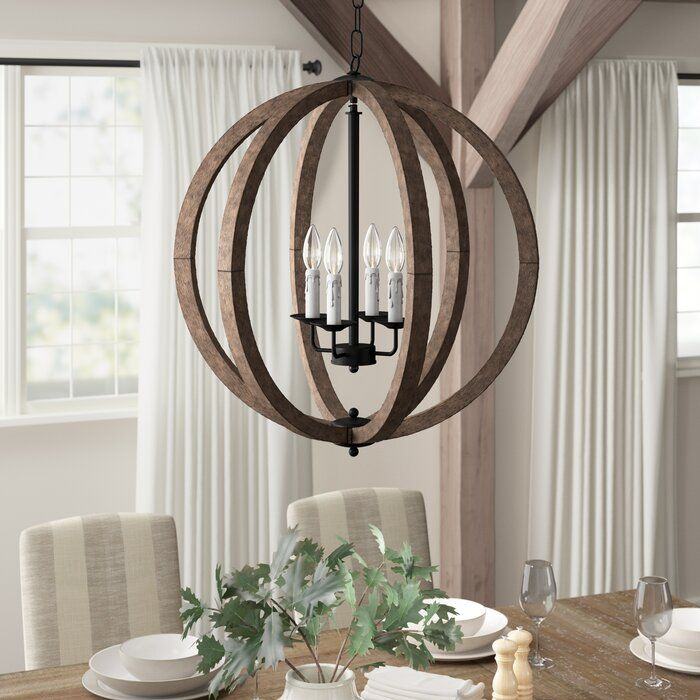 Amherst 4 Light Chandelier | Chandelier lighting, Chandelier