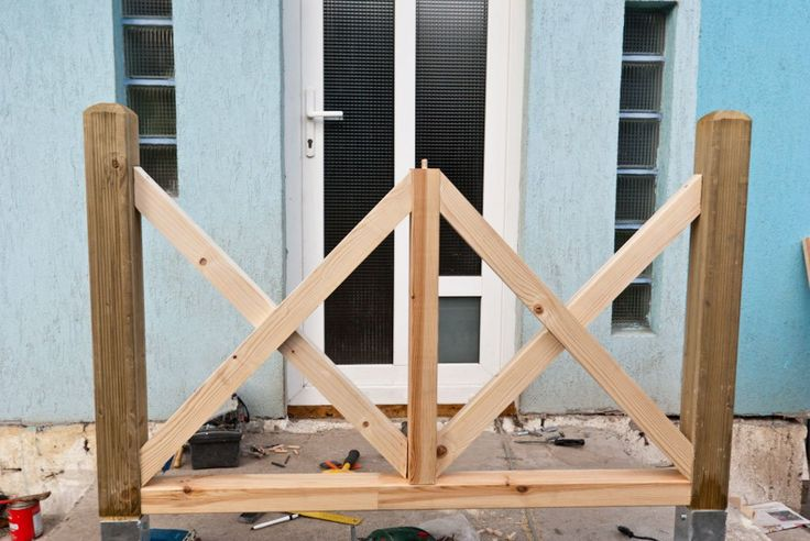 How to build deck railings Building a deck, Deck stair