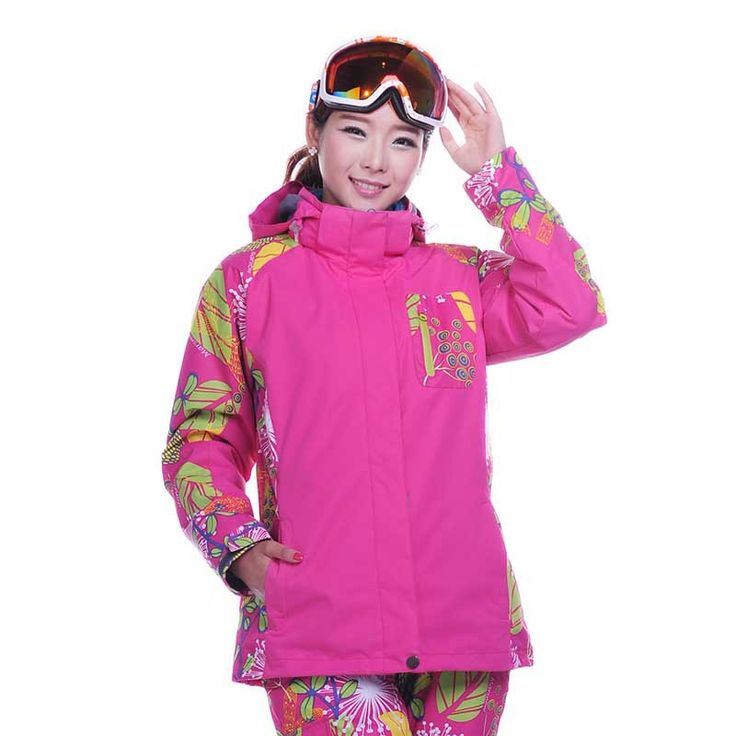 Snowboard outerwear female 2015 NEW Outdoor Climbing clothes sports waterproof double layer skiing jacket winter ski coat women