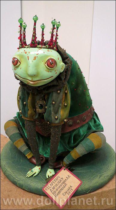 Авторская кукла Елены Княгиничевой на выставке в Самаре Люди и Куклы