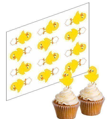 12 De pâques Poussin Pics De Cupcake 'Support' papier de ... https://www.amazon.fr/dp/B00J6ZOXO4/ref=cm_sw_r_pi_dp_ildBxbT6Y85FX
