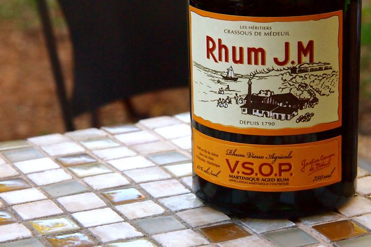 The one rhum vieux I (Steve) always ask for by name in Martinique. Ever try a taste of Rhum JM Vieux Agricole VSOP..?